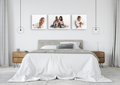 three_canvas_wall_art_collection_baby_mum_dad_and_baby